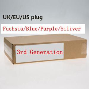Génération 3 Pas de ventilateur Sèche-cheveux Outils de salon professionnel Sèche-cheveux Chauffer la chaleur Sèche-cheveux Super vitesse US / UK / UE Plug