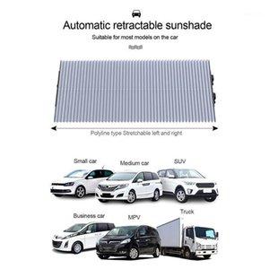 자동 차 창문 Sunshade Retractable Foldable Windshield Sunshade Cover Shield 커튼 자동 태양 음영 블록 1