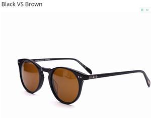 New ov5256 Vintage Round Eyeglasses Frame Men Women sunglasses ov 5256 Glass Men Optical Eye Glasses Frame Eyewear with box