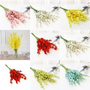 Colorful Artificial Flowers Cloth Wedding Flower Home Furnishing Decoration Craft Supplies Homes Decor Grace Good Looking 1 85lk E2