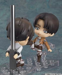 Ataque 10cm En Titán Levi Ackerman animado Figura 373 # 390 # 417 # PVC figura de acción Juguetes Ackerman estatua Colección Modelo regalo de la muñeca