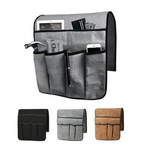 Sofa Armrest Storage Bag Hanging Bag Mobile Phone Remote Control Storage Student Dormitory Artifact Organizer Holder