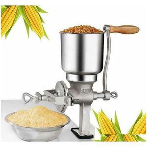 Mills Grinder Corn Coffee Food Wheat Manual Hand Grains Oats Nut Mill Crank Zaqk2 Fbqgv
