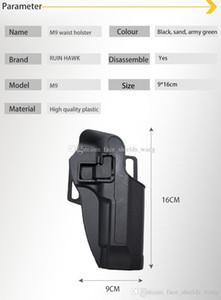 الجملة التكتيكية اليد اليمنى بيريتا m9 m92 مسدس الملحقات الخصر مخفي مسدس الحافظة الصيد اطلاق النار على مسدس الحافظات