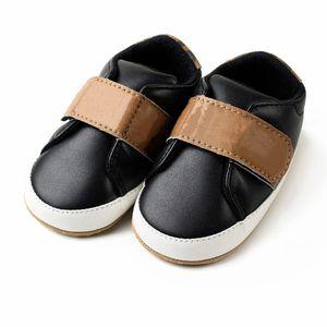 Sapatos de bebê Recém-nascidos meninos meninas coração estrela padrão primeiro caminhantes crianças crianças lace up plut sneakers 0-18 meses presente