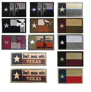 No te metas con Texas TX State Flag USA Ejército Táctico Forest Patch Parches Bordados Insignias Tácticas