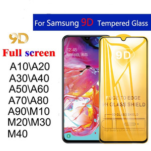 Protective Galaxy A01 A10S 9D A20S A20E A30S A11 A21 A31 A41 Tempered Glass For san star A81 A21s Screen Protector Film