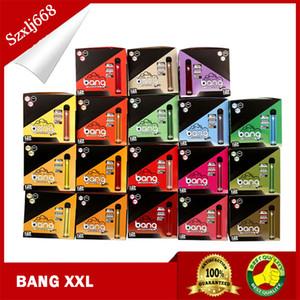 12pcs / caixa Bang XXL VAKE DE VAPA DE VAPE 2000 Pufão Pré-preenchido CARTRIGOS 6ML Pods 800mAh Bateria Kit de Vaporizador XXTRA MAX Nova Embalagem