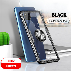 Vothoon Magnetic Ring Silicon Case for Huawei Mate 30 20 Pro 20x ماتي 20 لايت P40 Pro P30 P20 Lite Back Case Cover