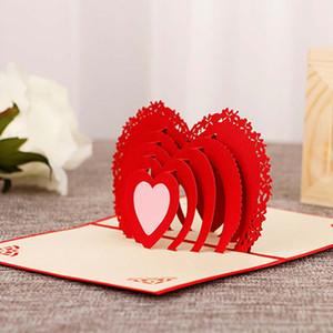 Творческий день матери поздравительная открытка бумаги резьба полые 3D стерео карта Handmade праздник подарка карт благодарения
