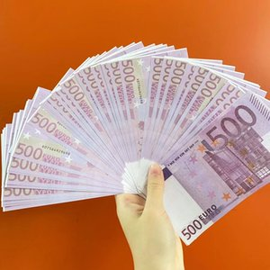 High Quality Euros Fake Money Banknotes Prop Money Paper 200 500 Euro Bills Price Fake Paper Money for Collection