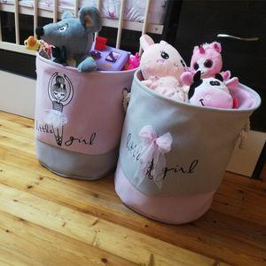 Foldable Laundry Basket for Dirty Clothes Toys unicorn canvas storag large baskets kids baby Home washing Organizer bag Z1202