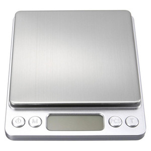 Portable Digital Kitchen Bench Household Scales Balance Weight Digital Jewelry Gold Electronic Pocket Weight + 2 Trays