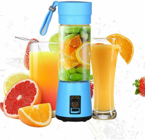 Portable USB Electric Fruit Juicer Handheld Vegetable Juice Maker Blender Rechargeable Mini Juice Making Cup With Charging Cable DDD610