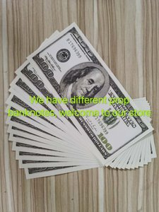 Old US Party 100 Sales Banknote Dollar Movie Fake Dollars Prop Games Money Bar Prop 35 Collection Hot Gifts Money Qmnrx
