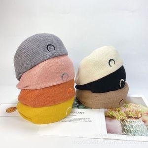 Women Hats Autumn Winter Retro Breathable Mesh Forward Cap girl Niche Wild Berets Korean version of Reverse Caps detective hat1