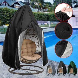 Dustproof Swing Chair Sofa Furniture Cover for Hanging Hammock Stand Egg Wicker Seat Patio Garden Waterproof Rain Outdoor D30