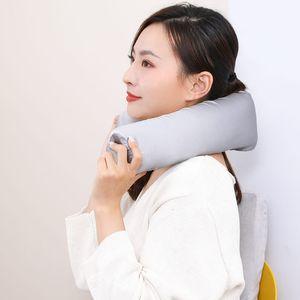 Original Xiaomi Youpin PMA H10 Heating U-pillow Neck Back Body Multiple Pillow Flexible Antibacterial Slow Nounce Bend Design 3014109