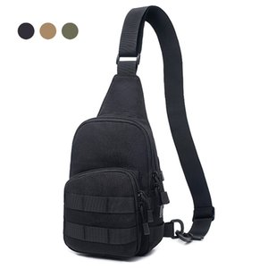 1000D Tactical Shoulder Portable Military Man Chest Crossbody Bag Outdoor Utility Backpack for Hunting Camping Climbing