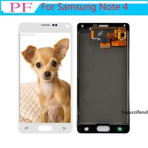 Para Samsung Galaxy Note 4 N910C N910 N910A N910F Screen Display LCD Assembléia digitador Toque substituição para Galaxy Note visor de 4 lcd