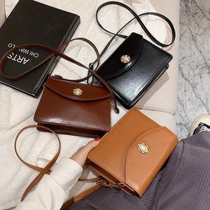 2021 Fashion Women Bag Leather Handbags PU Shoulder Bag Small Flap Crossbody Bags for Women Messenger Bags