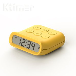 Ktimer 24 Hours Electronic Alarm Count Up and Countdown with Large LED Display for Cooking Studying Simple Operation Level 5 volume control