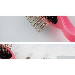 330pcs brosse de peigne en acier anti-statique professionnel pour perruque extensions de cheveux Tête de formation TeilDressing Tools outils PLA QYLZPT SWEET07