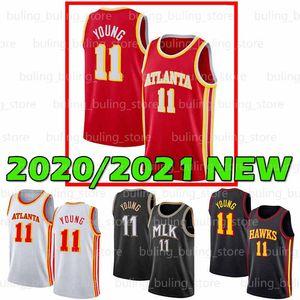 2020 2021 New Atlanta Men Hawk Jersey Trae 11 شاب عميد De'andre 12 Hunter Spud 4 Webb Oklahoma Goalers College 20 21 كرة السلة