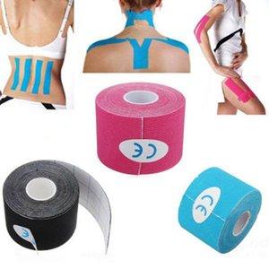 Kinesiology 테이프 Kinesio 테이프 그립 운동 회복 탄성 kneepad 릴리프 무릎 패드 휘트니스