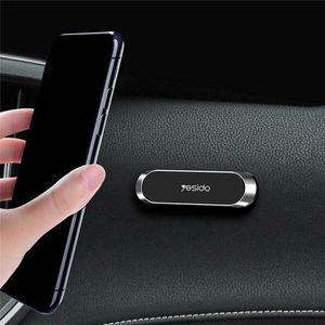 자동차 액세서리 인테리어 장식 마그네틱 자동차 전화 홀더 대시 보드 미니 스트립 모양 스탠드 아이폰 삼성 벽 자석 GPS 자동차 마운트