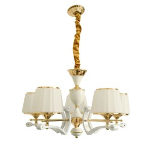 Ultra-high quality chandeliers sell cheap white gold modern chandeliers for the living room decoration chandelier lighting