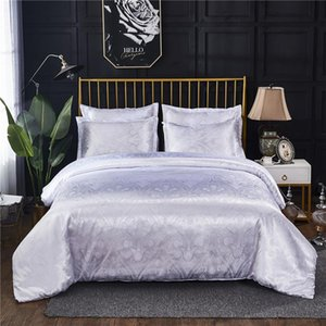 European Style Luxury Jacquard Bedding Set Quilt Cover Pillowcases Bed Linen for Queen King Bed Size Duvet Cover Sets