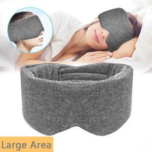 Full Cover Sleeping Mask Travel Rest Eye Masks Eye Shade Blindfold Mask For Sleep On Eyes Sleeping Aid Eyepatch For Women Men