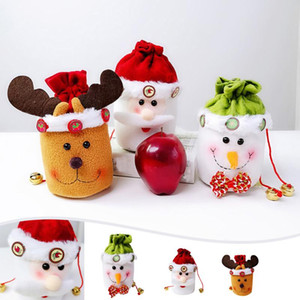 Xmas Decoration Christmas Candy Party Gift Bag Decorations Xmas Storage Packing Wrapper Supplies Home Decorations For Christmas