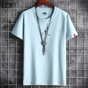 Free shipping T Shirt Summer New High Quality Men Casual Short Sleeve o-Neck 100% cotton t-Shirt men brand white black tee shirt C-7