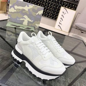 Womens Camouflage element casual sports shoes Low-top lace-up thick sole sportswear shoes height Increasing Shoes