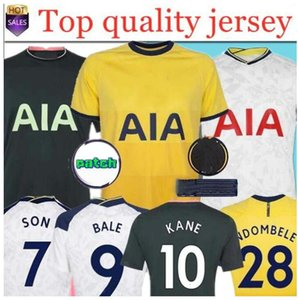 الصفحة الرئيسية Bale 20 21 Kane Son Bergwijn Ndombele Soccer Jerseys 2020 2021 Lucas Dele Jersey Football Kit Shirt Lo Celso Kids Kit