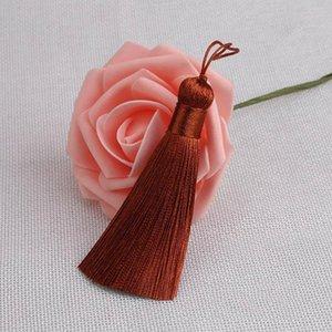 Mibrow 2pcs Lot 50mm Mixed Cotton Silk Tassels Earrings Charm Pendant Satin Tassels For Diy Jewelry Making Findings Materials H bbyMMn