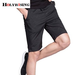 Holyrising Men Summer Shorts Fashion Beach Shorts Male Breathable Bottom pant 5 color trouser short pants 18456-5