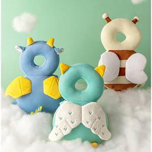 Hot 1-3T Toddler Baby Head Protector Safety Pad Cushion Back Prevent Injured Unicorn Bee Cartoon Security Pillows