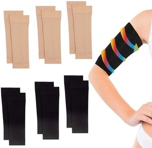 Women Slimming Compression Arm Shaper Tone Shape Upper Arms Sleeve Slimming Arm Belt Arm Shape Taping Massage GWB4487