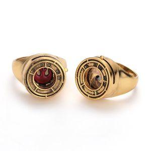 Star Rose's Ressistance Ring Rose Tico's Rebel Alliance Iris Cooper Ring fow Women Men Jewelry