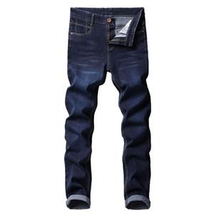 2020 neue männer marke schlanke elastische jeans mode business classic stil dünne jeans denim hosen hosen männlich
