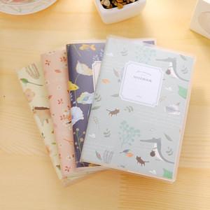 1 PC Creative Hardcover Notepad Kawaii Stationery Diário Notebook e Pen Office School Material