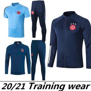 2020 AJAX Tracksuit Jacket 2020 2021 Ajax Futebol Treinamento Terno 2021 Tadic Ziyech Futebol Treinamento Voetbal Jas TrainingsPak