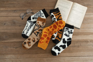 Women Girls Socks Fashion 2021 newest design Warm Fuzzy High Quality Cotton Crew Socks new design Breathable Outdoor Leisure Unique Socks