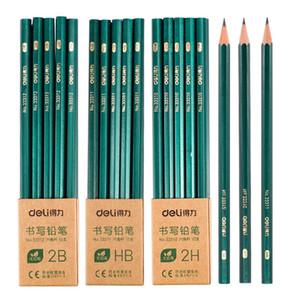 10pcs 고품질 나무 리드 연필 HB 2H 2B 안전한 표준 나무 연필 그림 학교 용품 스케치 연필 05869
