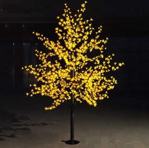 LED Cherry Blossom Arbres Lumière 1.5m 1.8m 2m Disponible Maison Jardin d'extérieur Paysage Paysage Lampe Multi couleurs