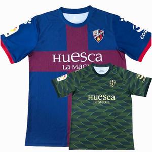 20 21 SD Huesca Mailleots De Foot Soccer Jersey Martin Pulido Ferreiro Mosquera Okazaki Mir Huesca Home Thouse 3rd 2020 2021 كرة القدم قميص