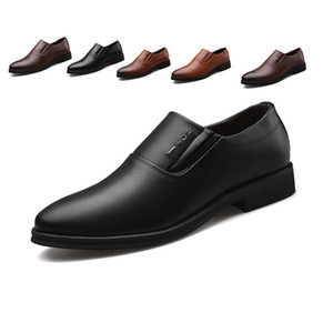 Hot Sale-Italian Fashion Elegant Oxford Shoes For Mens Shoes Large Sizes Men Formal Shoes Leather Men Dress Loafers Man Slip On Masculino